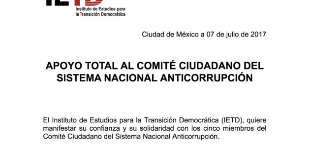Apoyo al Comité Ciudadano del SNA